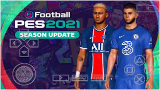 Download PES 2021 PPSSPP Android Peter Drury Commentator English Version & Fix UEFA Champions League