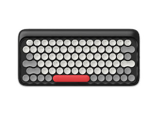 This Classic Keyboard Combines High-Tech Mechanical Engineering with Retro Typewriter Design