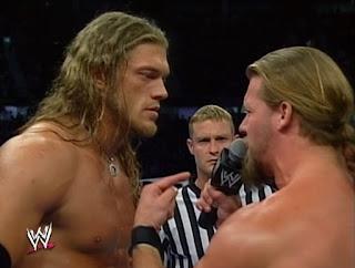 WWE Global Warning 2002: Edge vs. Chris Jericho