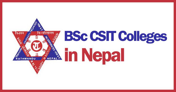 Top Best Popular BSc  CSIT Colleges in Nepal