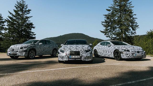 Voitures électriques Mercedes-Benz