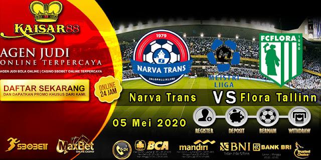 Prediksi Bola Terpercaya Liga Estonia Narva Trans vs Flora Tallinn 05 Mei 2020