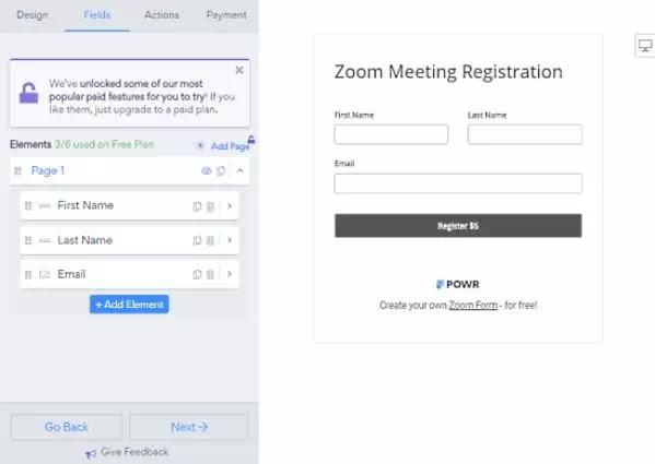 Cara Membuat Formulir Pembayaran untuk Zoom Meeting-5