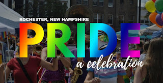 Rochester NH Pride Festival, Hosted by @Rochester_MFA - Saturday August 24th