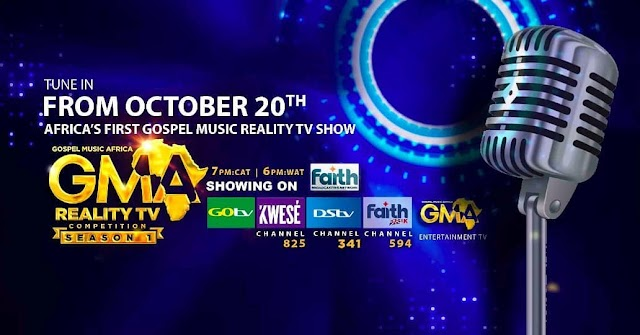 "NEWS: With controversies over Immoral content on TV, Gospel Music Africa Reality TV Show"" kicks off 20th OCT. - Airing on DSTV"