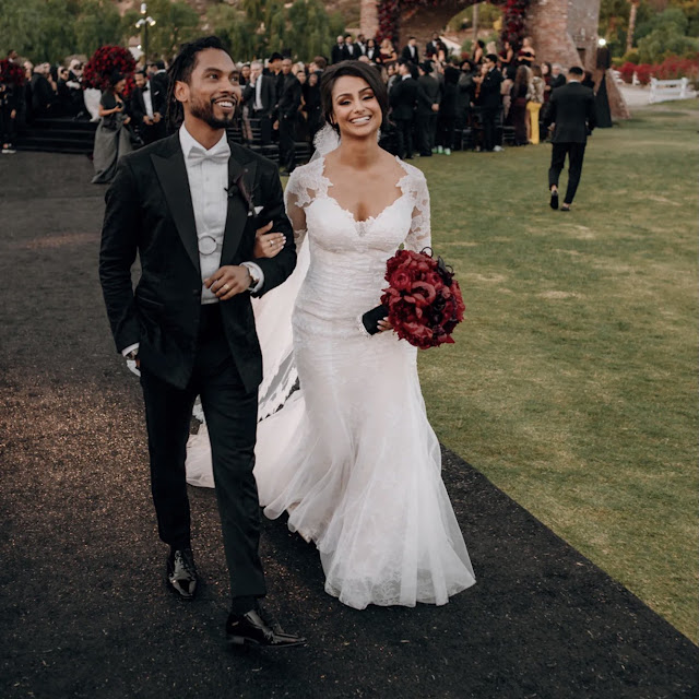 Miguel and his wife Nazanin Mandi