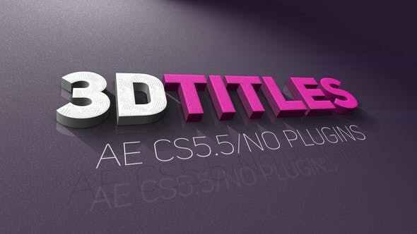 قوالب نصية  للافتر افكت    Titles 21946657 Videohive – Free Download After Effects Templates