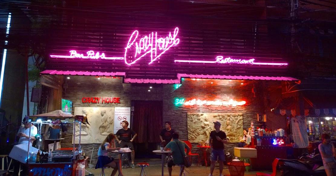 Crazy House Naked Striptease Bangkok Jakarta100bars