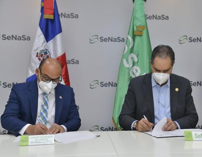 SeNaSa y la Comisión Barrial beneficiarán a diversas comunidades y  sectores de Santo Domingo