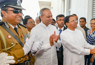President Sirisena to take over police?