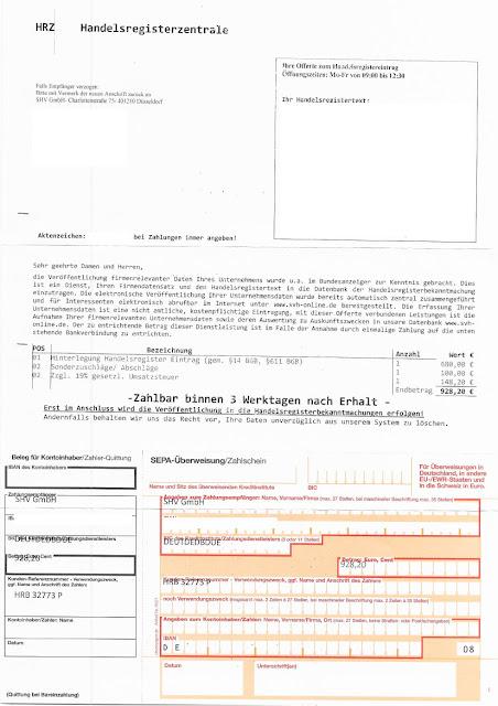 Scan: Offerte SHV GmbH / Sep 2019