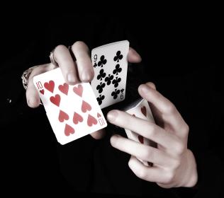 Karten Zaubertrick