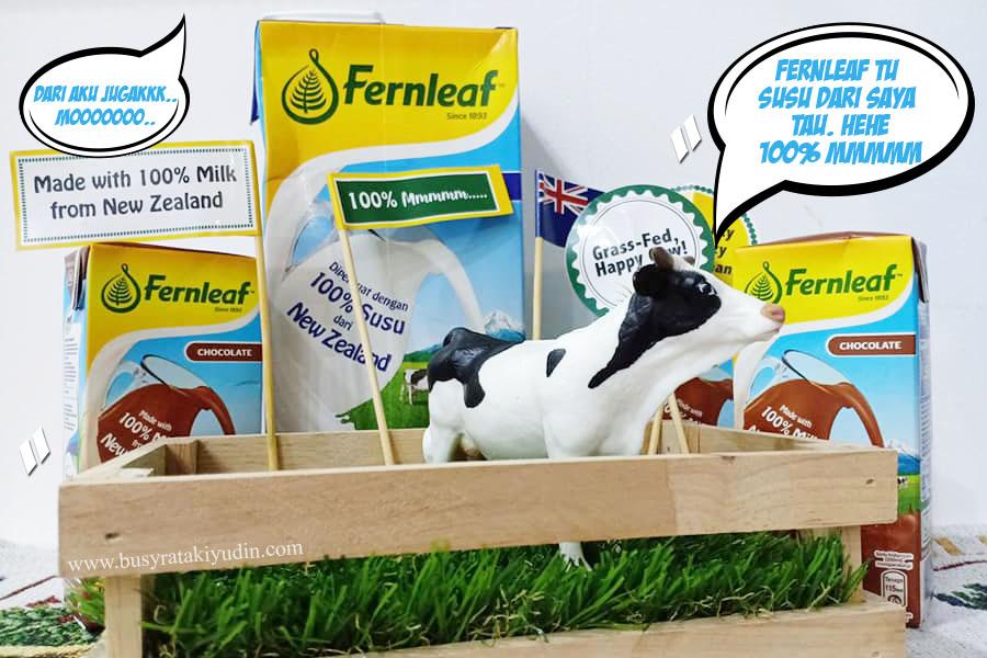FERNLEAF UHT 100% SUSU DI PERBUAT DARI NEW ZEALAND!
