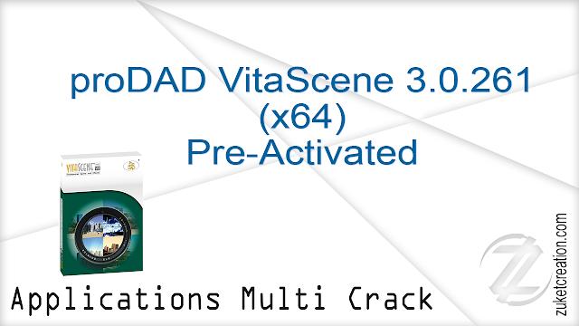 proDAD VitaScene 3.0.261 (x64) Pre-Activated  |  133 MB