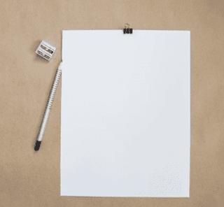 Kertas dan penghapus