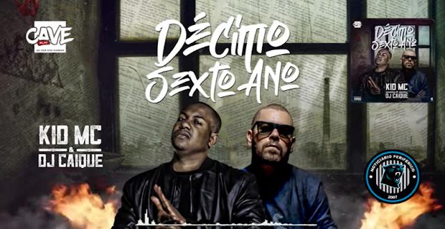 O angolano Kid MC celebra seus 16 anos de carreira junto com DJ Caique