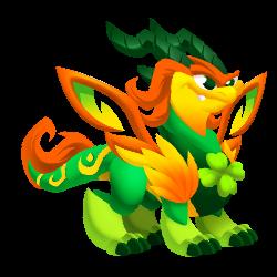 Dragon Macha apparence jeune