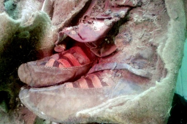 New Research 1,500-Year-Old Mummy Appears To Be Wearing Adidas Trainers