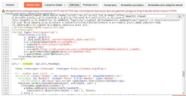 Memasang Tag Herflang di Blog
