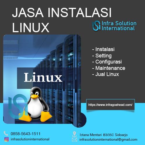 Jasa Instalasi Linux Surabaya Enterprise