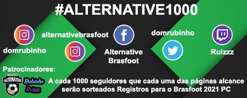 #Alternative1000 - Giveaway Brasfoot 2021