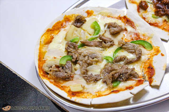 Baked Angus Xtreme of Pizza X's Frozen Pizza