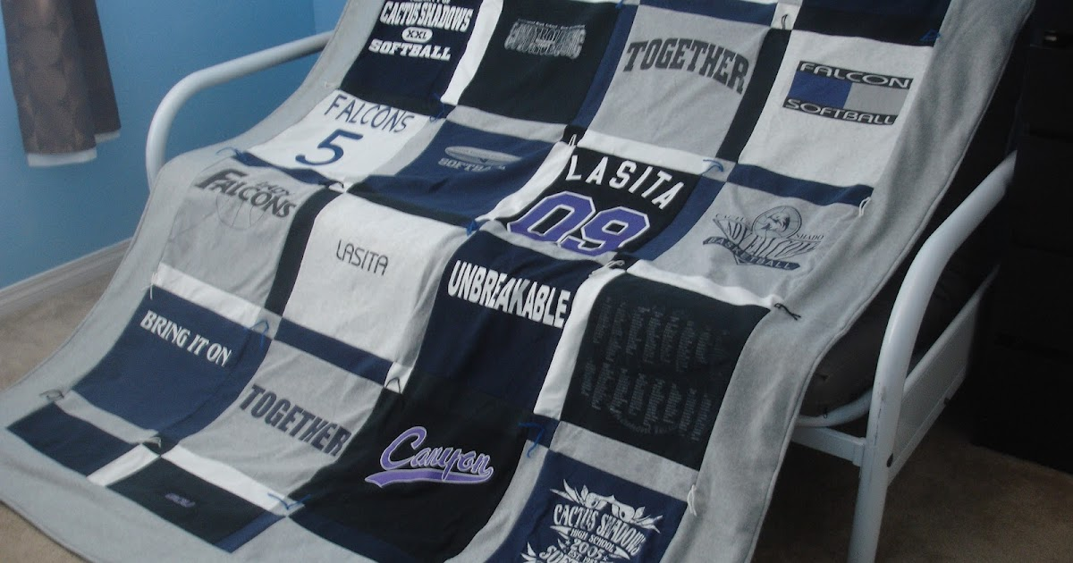 Alex Haralson T Shirt Quilt How To Make Your Own
