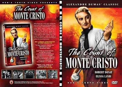 Carátula dvd: El conde de Monte Cristo (1934) The Count of Monte Cristo