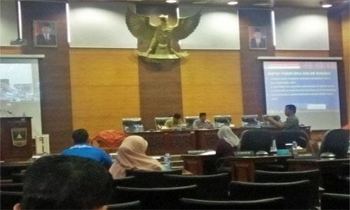 DPRD Sumbar Ajukan  Dua Ranperda Prakarsa  Inisiatif