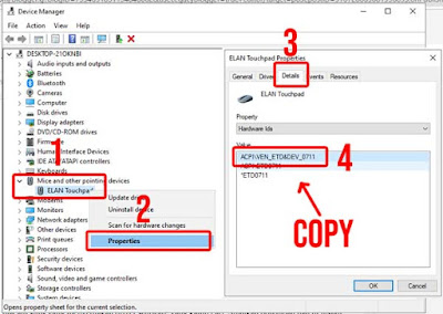 Cara mengetahui ID Hardware di Device Manager