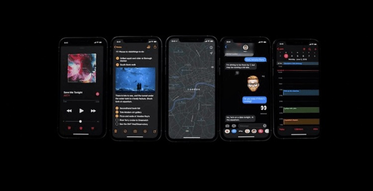 Apple iOS 13 with Dark Mode Announced