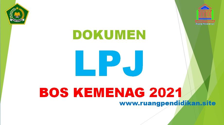 LPJ BOS Kemenag Tahun 2021
