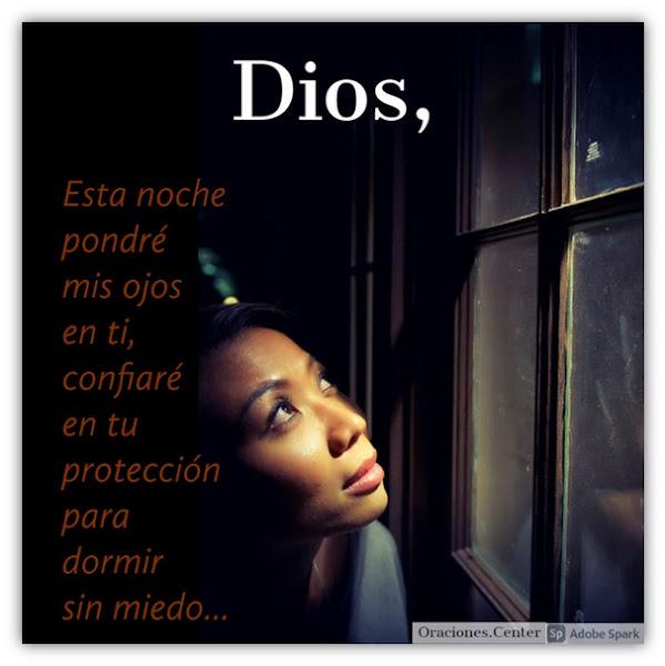 Oración para Dormir sin Miedo