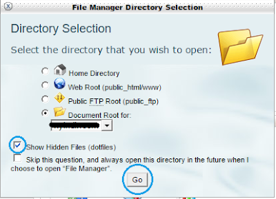 File Directory Selection