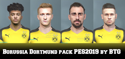 PES 2019 Facepack Borussia Dortmund by BTG