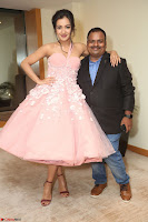 Catherine Tressa looks super cute in strapless sleeveless deep short dress at 64th Jio Filmfare Awards South ~  Exclusive 083.JPG