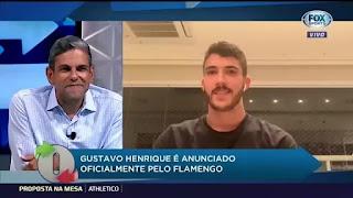 Gustavo Henrique Fala Tudo Sobre Chegada ao Flamengo