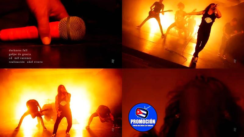 Darkness Fall - ¨Golpe de Gracia¨ - Videoclip - Director: Edel Rivero. Portal Del Vídeo Clip Cubano. Música cubana. Rock. Metal Hardcore. Cuba.