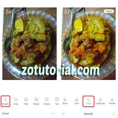 Cara Mencerahkan Foto Otomatis di HP Xiaomi Tanpa Aplikasi by zotutorial.com