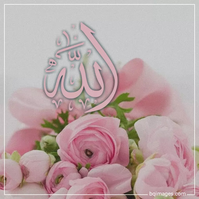 Allah names pics with flowers