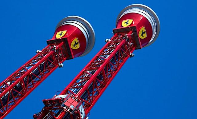 スペインにフェラーリのテーマパーク「フェラーリランド」がオープン!垂直コースターなど11のアトラクションも。