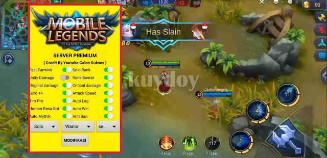 APK Mod Winrate Booster Mobile Legends Patch Terbaru