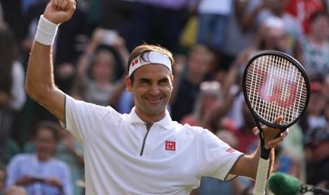 TENIS: Roger Federer obtuvo su victoria número 100 Wimbledon.