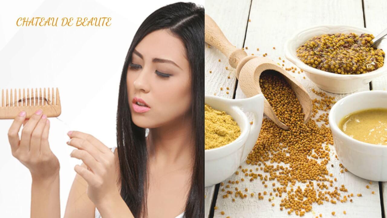 Favori Masque de moutarde pour la repousse des cheveux - Chateau de Beauté ML32