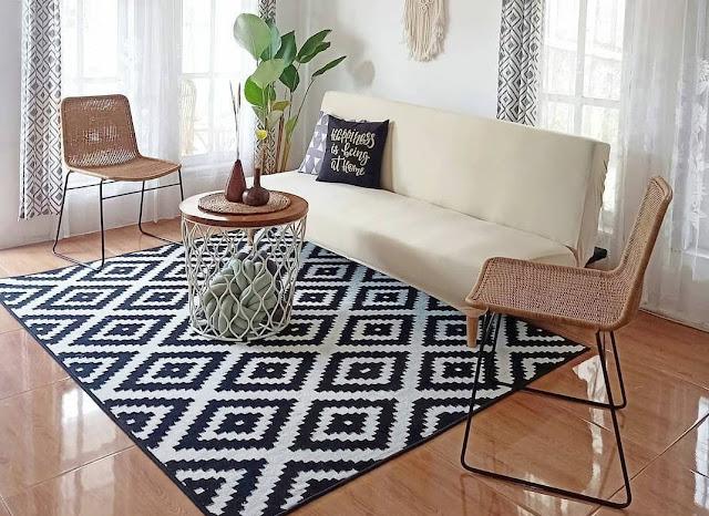 Model Karpet untuk Ruang Tamu Minimalis