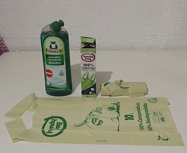 Bolsas de basura Handy Bag 100% reciclable Compostable
