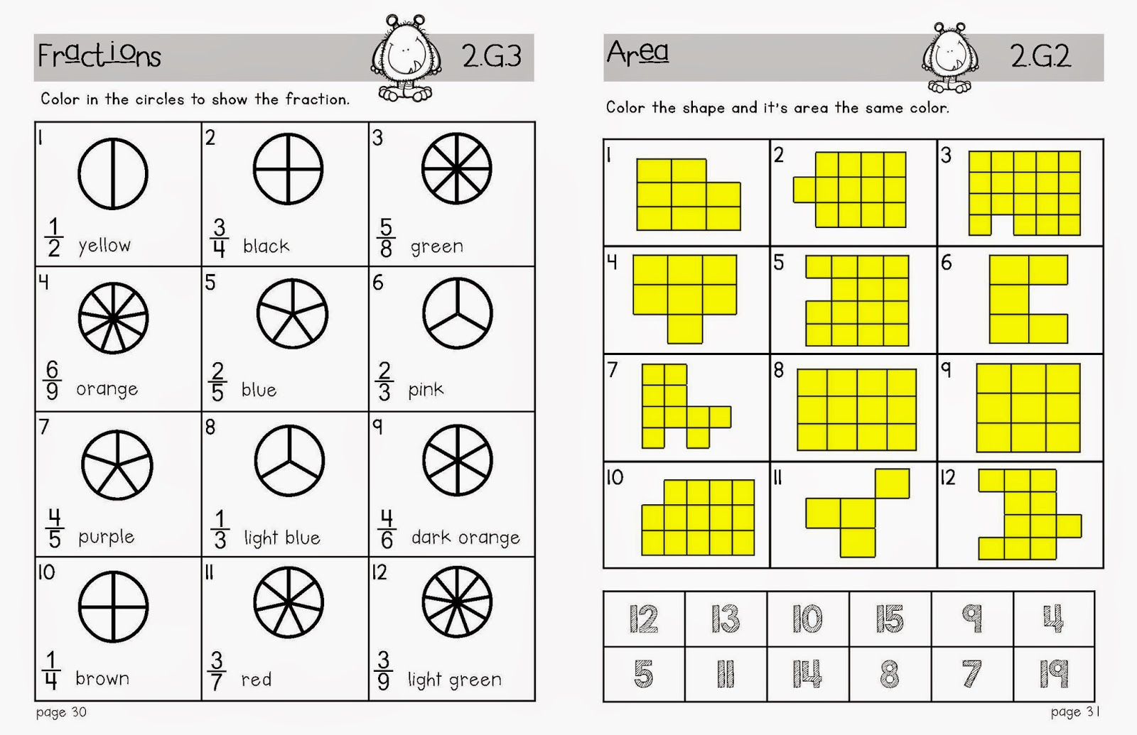 Lory S 2nd Grade Skills End Of Level Test Amp Math Review