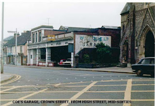 W J Coe Ltd, Crown Street from High Street mid 60's
