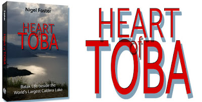 Book, Heart of Toba, front cover
