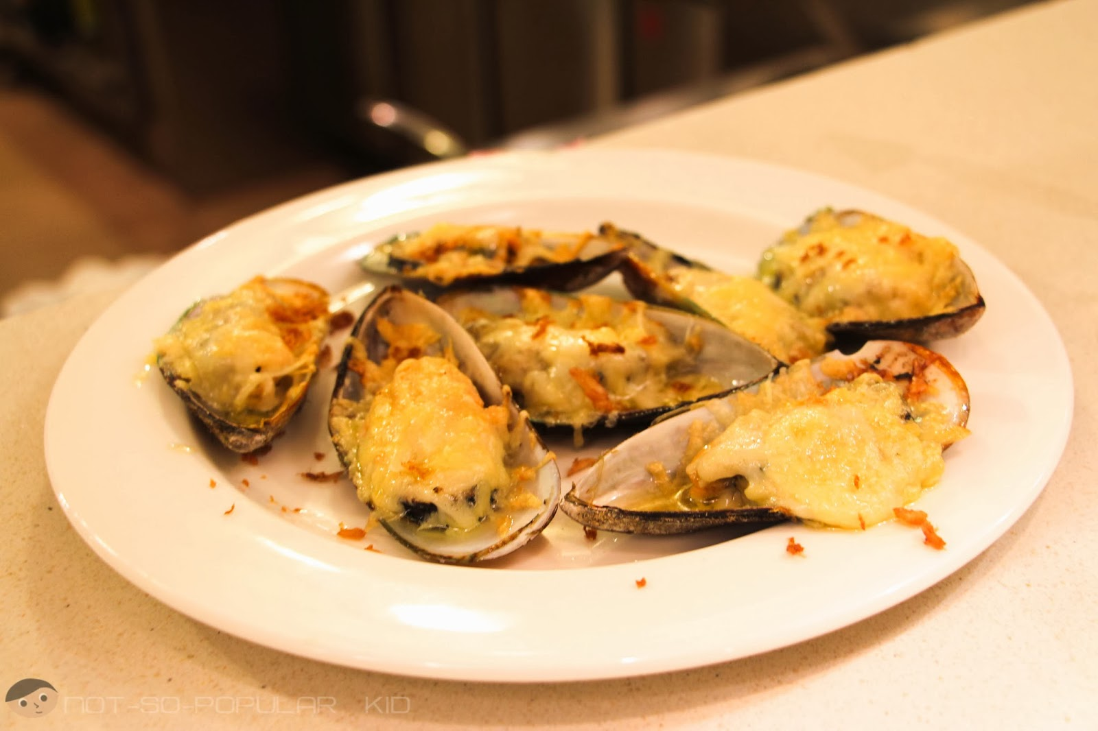 Grilling Station - have-it-your-way Baked Clams of Midas Restaurant